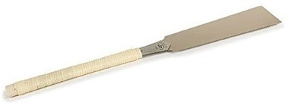 """Ryoba 9-1/2"""" Double Edge Razor Saw for Hardwoods from Japan Woodworker 1.3mm Teeth Pitch"""